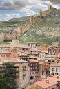 Albarracin medieval town of teruel spain Stock Image