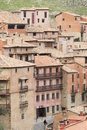 Albarracin medieval town of teruel spain Royalty Free Stock Image