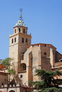 Albarracin teruel spain view of the medieval village of Royalty Free Stock Image