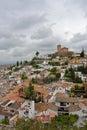 Albaycin. Grenada Royalty Free Stock Photo