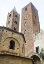 Albenga savona liguria italy medieval monuments towers Royalty Free Stock Photography