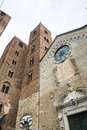 Albenga savona liguria italy medieval monuments towers Stock Photo