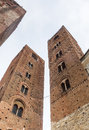 Albenga savona liguria italy medieval monuments towers Royalty Free Stock Photos