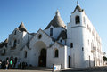 Alberobello church Royalty Free Stock Photo
