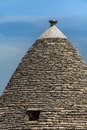 Alberobello italy roof of the trulli house typical historical house of s town holiday destination in apulia Royalty Free Stock Images