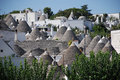 Alberobello Panorama 2 Stock Photo