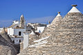 Alberobello town Royalty Free Stock Photo