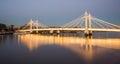 Albert Bridge Royalty Free Stock Photo