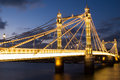 Albert bridge London Royalty Free Stock Photo
