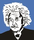 Albert Einstein Stock Photography