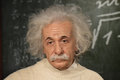 Albert einstein physicist wax figurine at madam tussad s in sydney Stock Image