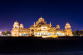 Picture : Albert Hall Jaipur at night  in