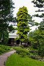 Albert Khan - japanese garden Royalty Free Stock Photography