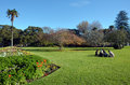 Albert park in Auckland New Zealand. Royalty Free Stock Photo