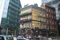 The albert pub in london under skyskraper http iwannagothere com eating drinking Stock Photo