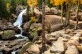 Alberta Falls Royalty Free Stock Photo