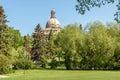 Alberta Legislature Building in Edmonton Royalty Free Stock Photo