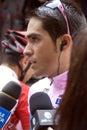 Alberto Contador Velasco Royalty Free Stock Photo