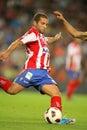 Alberto Lora of Sporting Gijon Royalty Free Stock Photo