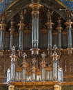 Albi france cathedral organ tarn midi pyrenees interior of the historic the Stock Photography