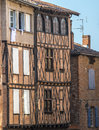 Albi france tarn midi pyrenees old typical buildings Stock Photo