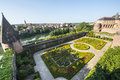 Albi palais de la berbie garden tarn midi pyrenees france gardens of the historic Royalty Free Stock Image