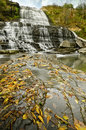 Albion Falls in Autumn Royalty Free Stock Photos