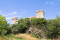 Albornoz fortress. Narni. Umbria. Italy. Stock Photo