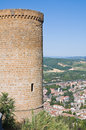 Albornoz fortress. Orvieto. Umbria. Italy. Stock Photo