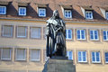 Albrecht durer monument in nuremberg germany Royalty Free Stock Photography