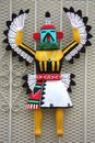 Albuquerque traditional indian doll wooden Royalty Free Stock Images