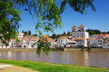 Alcacer do sal view of the typical town of in the alentejo region of portugal Stock Image