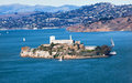 Alcatraz Island San Francisco California Stock Image