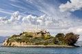 Alcatraz Island in San Francisco, USA Royalty Free Stock Photo