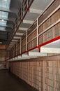 Alcatraz Jail Cells Royalty Free Stock Photo