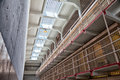 Alcatraz Prison Cell Block Royalty Free Stock Photo