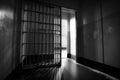 Alcatraz Prison Cells Royalty Free Stock Photo