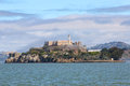 Alcatraz the rock also known as in san francisco once a jail Stock Photo