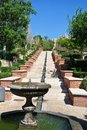 Alcazaba (fortress) in Almeria, Andalusia Royalty Free Stock Photo