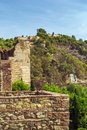 Alcazaba and gibralfaro fortress in malaga view of from spain Stock Image