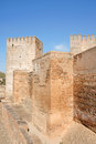 The Alcazaba in Granada, Spain Royalty Free Stock Images