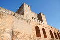 The Alcazaba in Granada, Spain Royalty Free Stock Photos