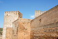 The Alcazaba in Granada, Spain Stock Photo
