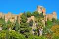 Alcazaba of Malaga, in Malaga, Spain Royalty Free Stock Photo