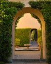 Alcazar archs Royalty Free Stock Images