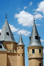 Alcazar castle Stock Photography