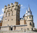 Alcazar of Segovia Royalty Free Stock Photography