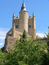 Alcazar of Segovia, Spain Royalty Free Stock Photos