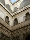 Alcazar of Seville - stages Royalty Free Stock Image