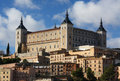 The Alcazar in Toledo, Spain Royalty Free Stock Photo